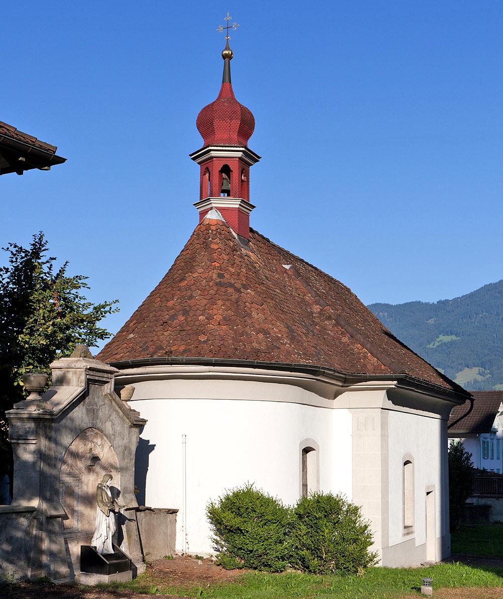 Beinhaus bei der Pfarrkirche St. Gallus in Kerns