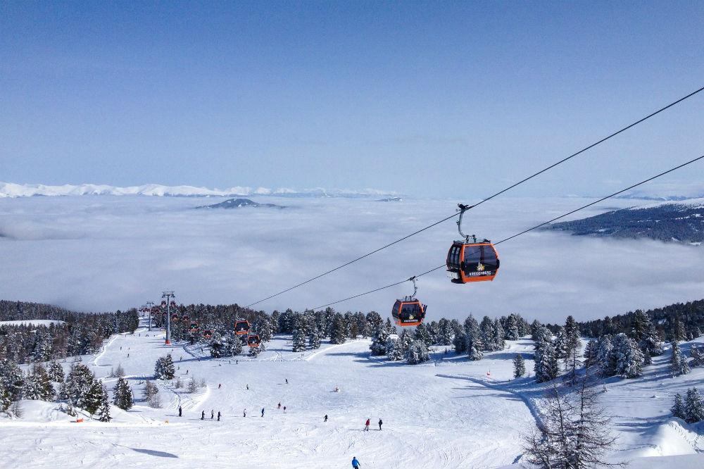 Panoramablick vom Skigebiet Kreischberg