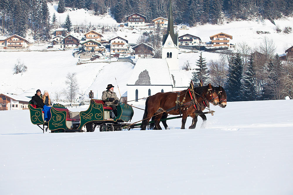 Pferdekutschfahrt in Wald-Königsleiten