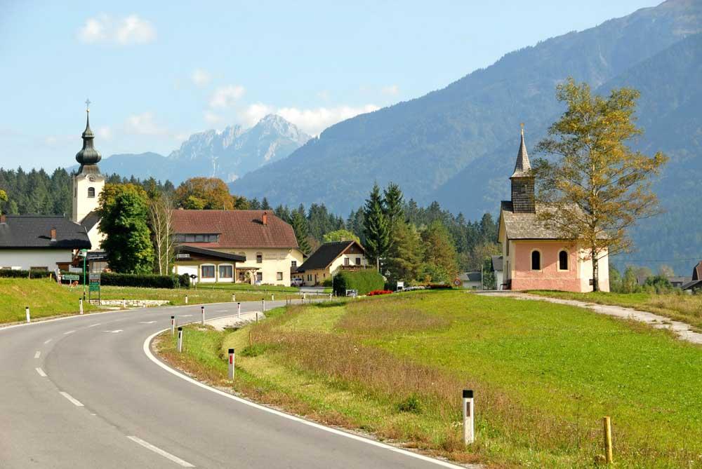Blick auf den Kirchbacher Ortsteil Grafendorf