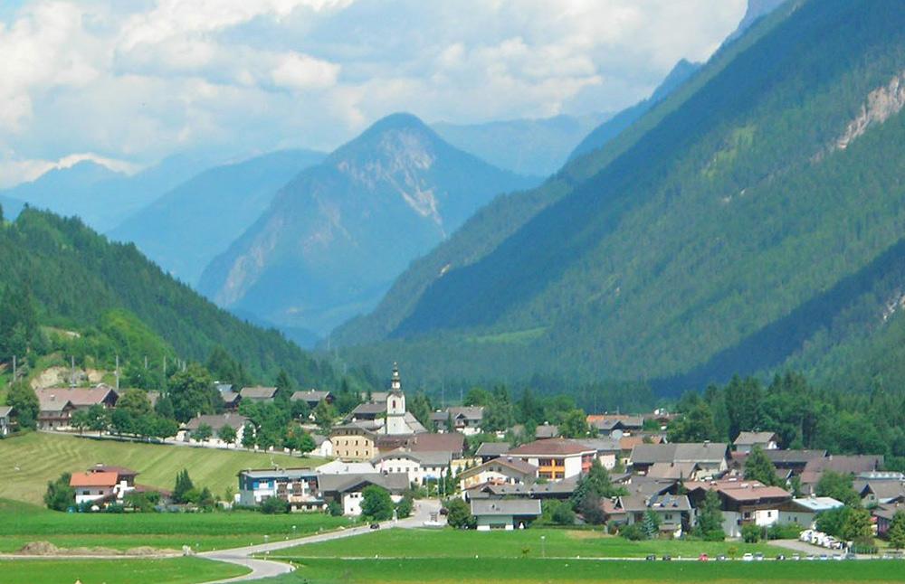 Blick auf Abfaltersbach