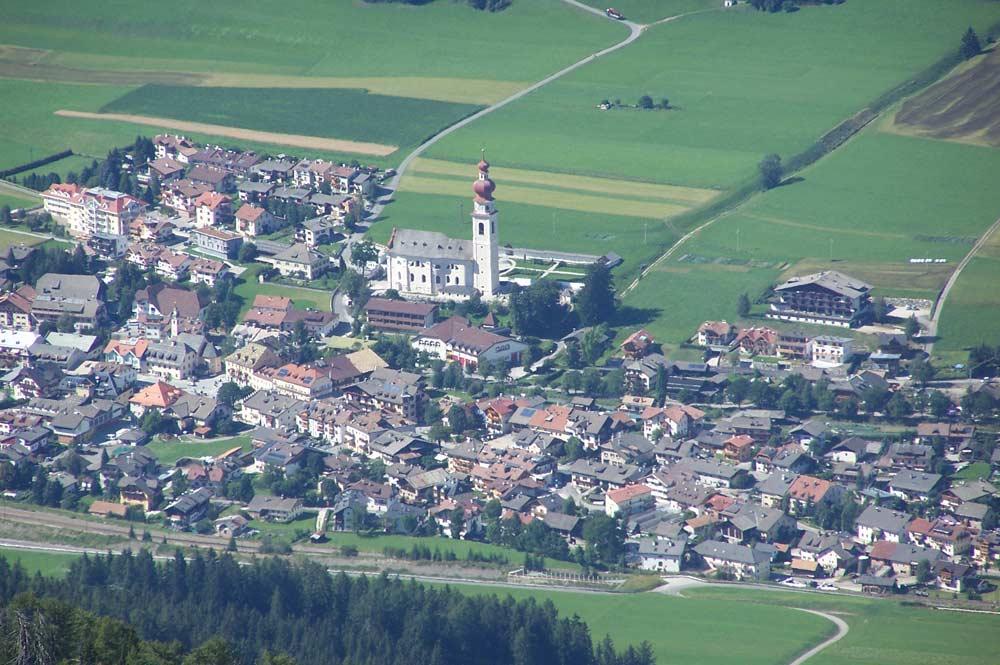 Luftaufnhame von Niederdorf