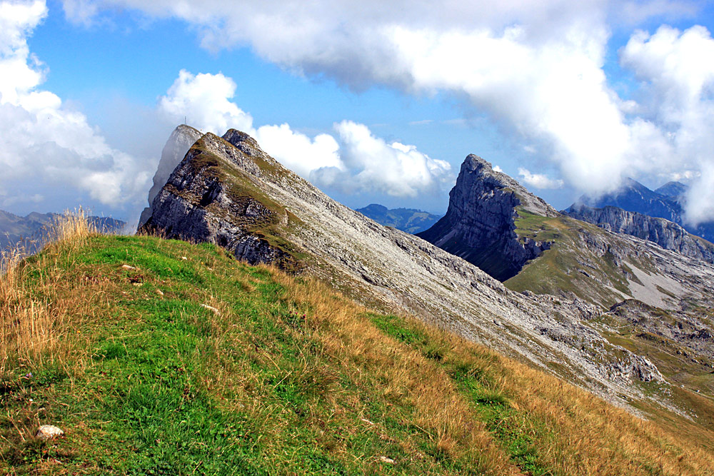 Gipfel des Hengst bei Marbach