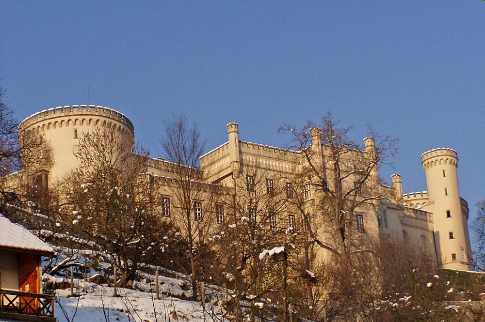 Blick auf Schloss Wolfsberg in Wolfsberg im Lavanttal