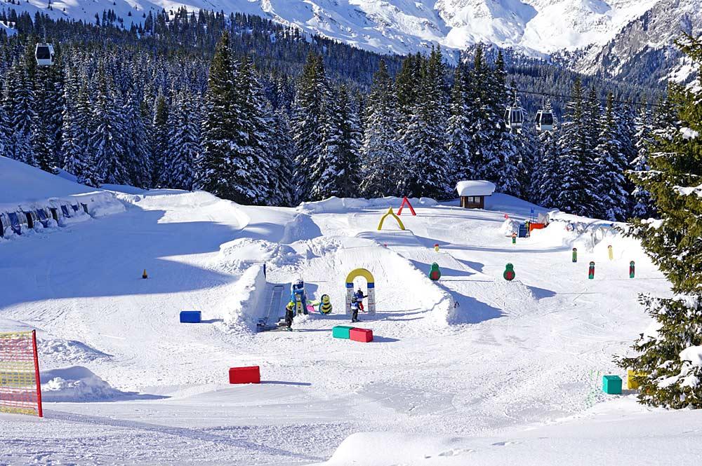 Kinderland im Skigebiet Ratschings-Jaufen