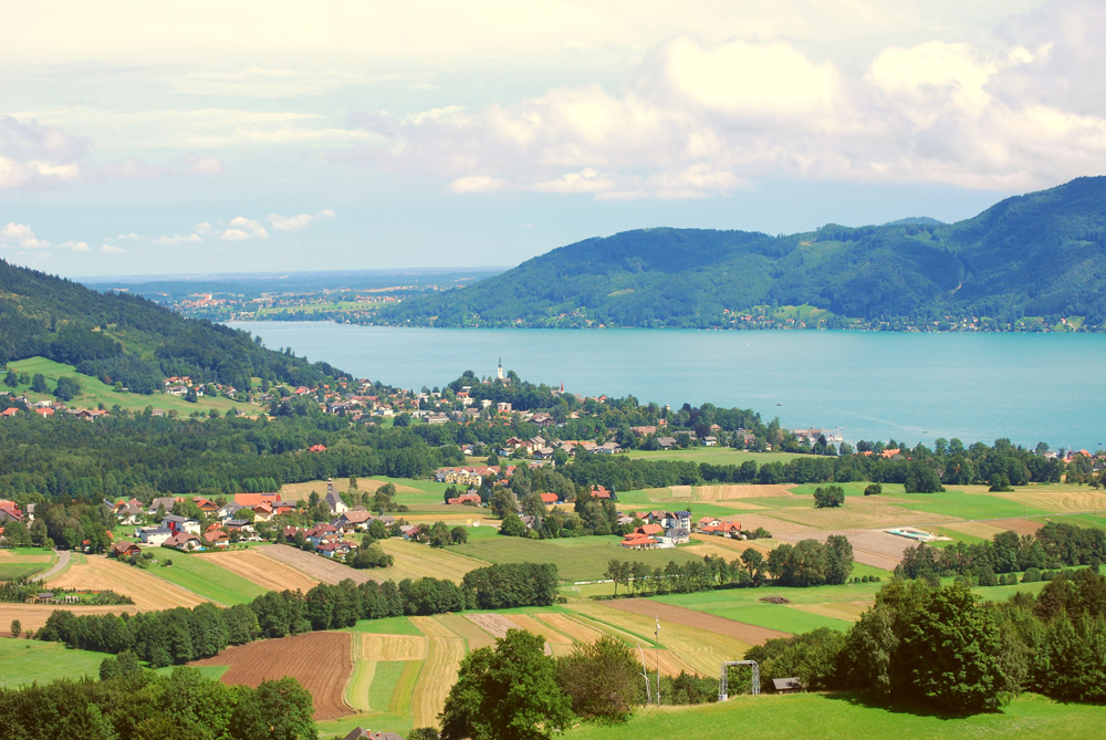 Blick auf Attersee am Attersee