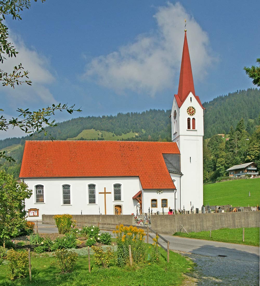 Pfarrkirche St. Michael in Sibratsgfäll