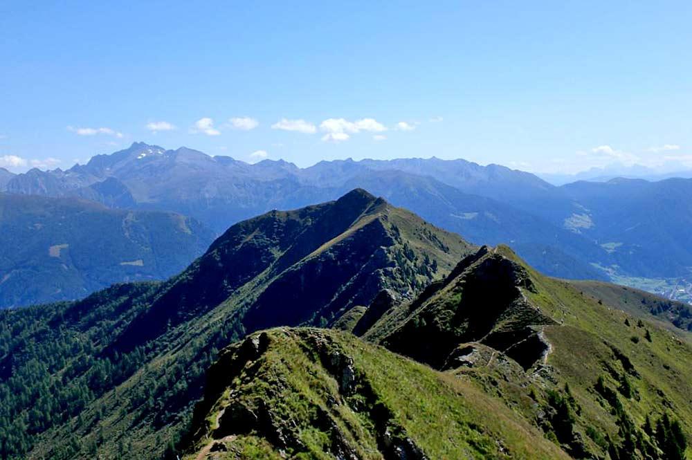 Blick auf den Gipfel des Rosskopfs bei Sterzing
