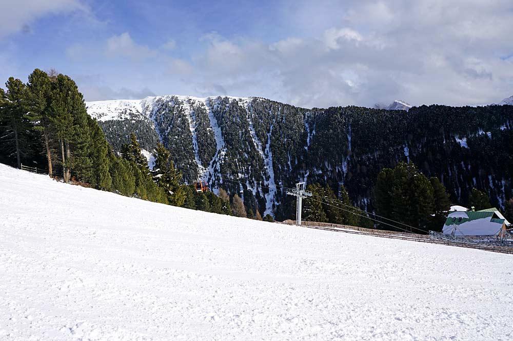 Piste im Skigebiet Brixen-Plose