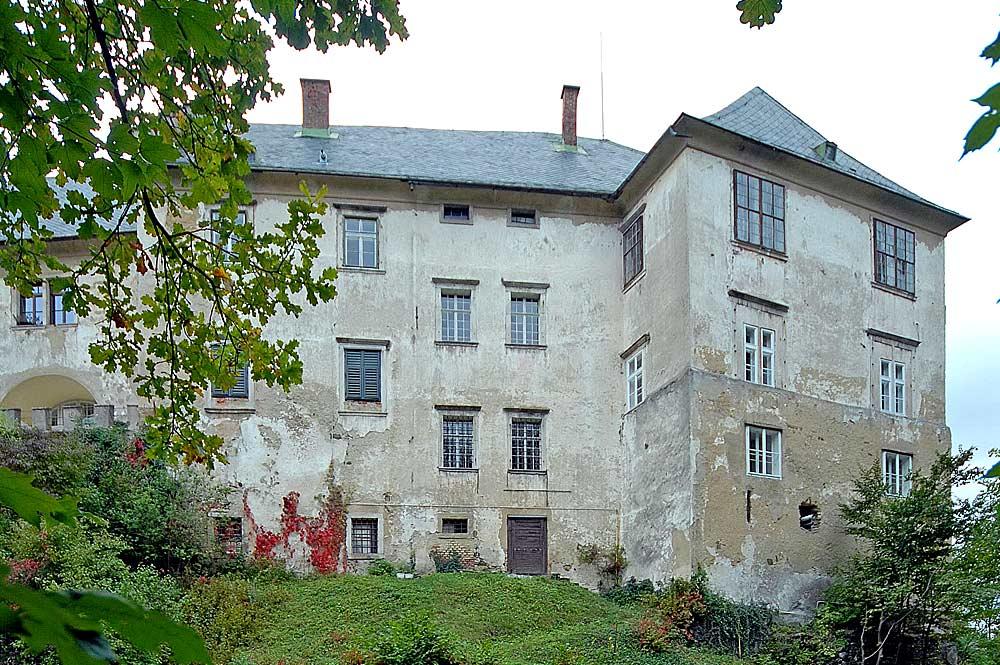 Blick auf Schloss Bleiburg