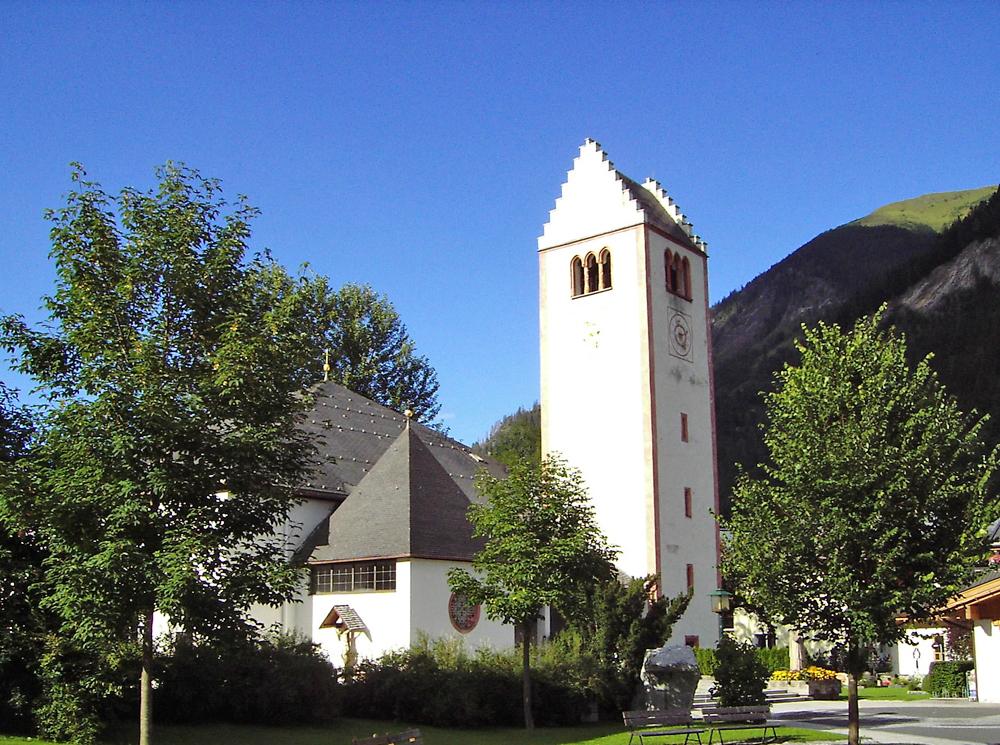 Kirche in Fusch