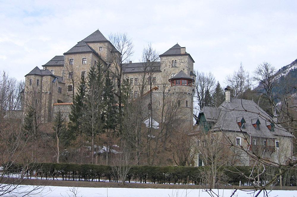 Schloss Fischhorn in Bruck am Großglockner