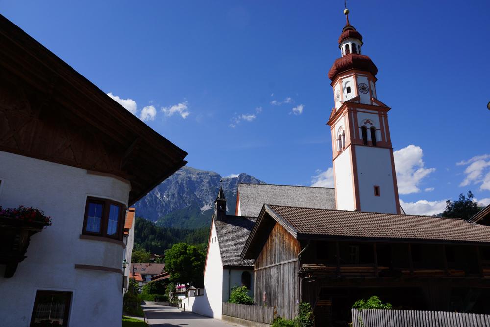 Das Dorf Gnadenwald