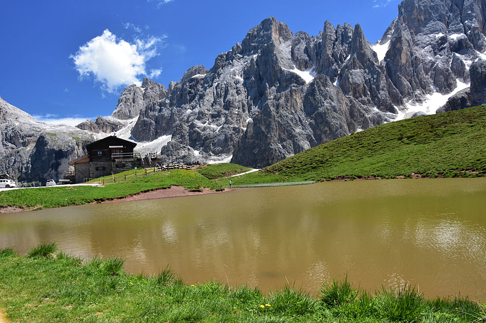 See im Naturpark Paneveggio