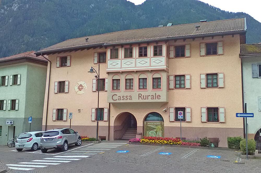 Ortszentrum von Predazzo
