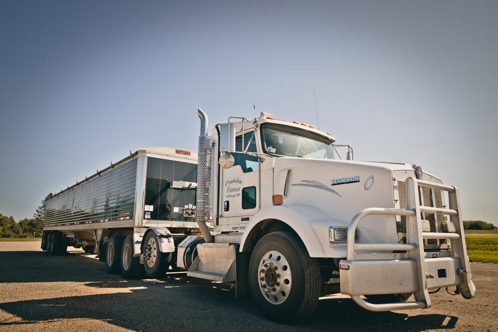 Frerich's semi-truck bio-diesel