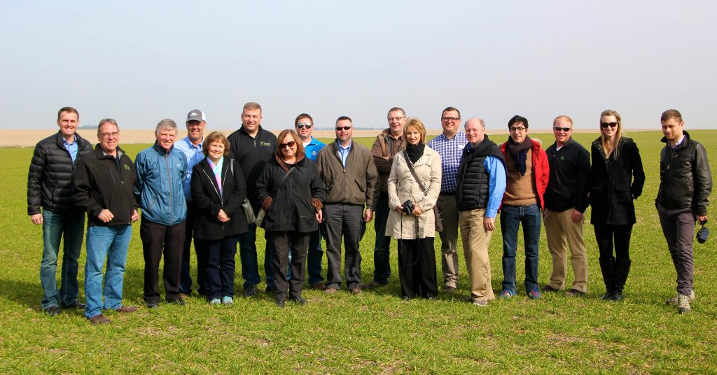 South Dakota soybean farmers meet with farmers in France to discuss biotechnology barriers.