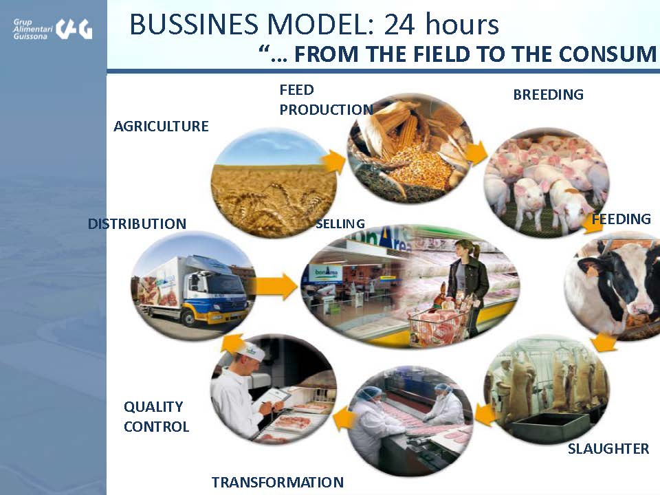 Guissona Business Model - Spain