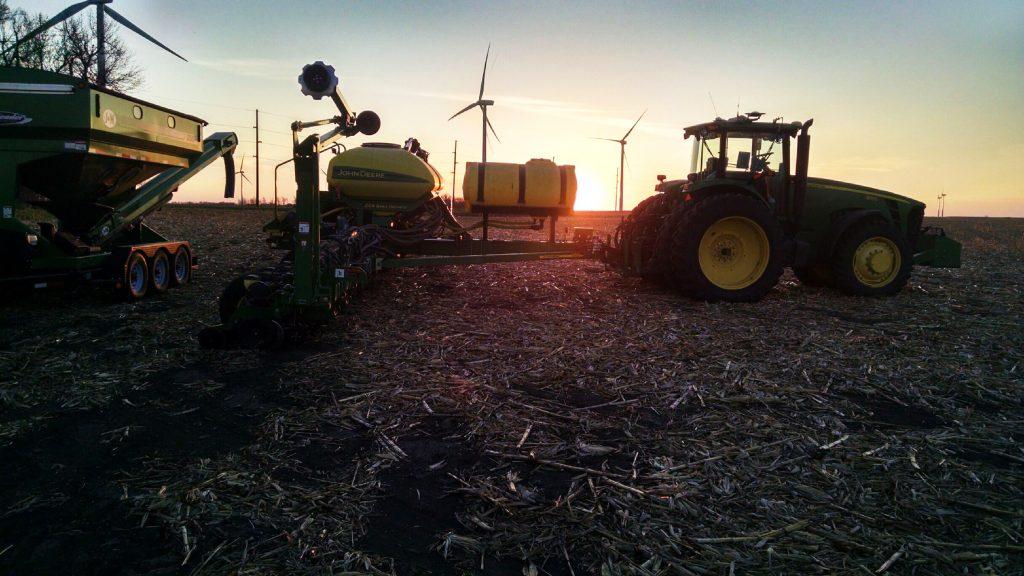 David Iverson's farm near Astoria.