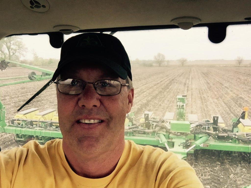"Tim Ostrem's Plant '15 ""felfie"" near Centerville."