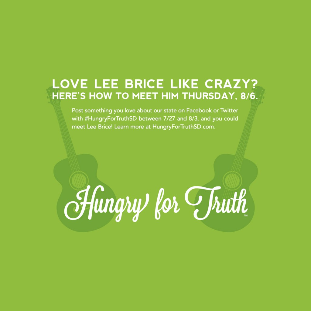 Lee Brice Hungry For Truth SD