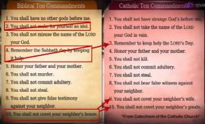 roman-catholic-church-changed-the-ten-commandments