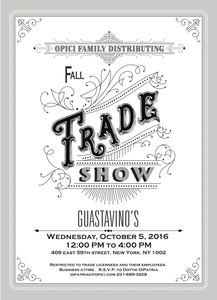Opici Family Distributing Fall Trade Show Sevenfifty