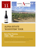 Alpha estate ecosystem tour sept11