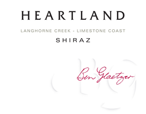 Heartland Shiraz Langhorne Creek Limestone Coast 2012 Red Austrailian Wine