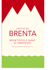 Brenta monte label