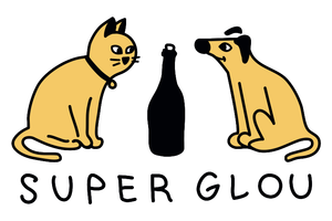 Super glou logo grab copy no bg