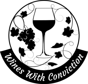 Wines with conviction logo blackload