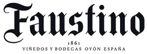 Faustino words horizontal logo