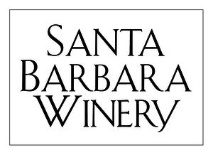 Santa barbara winery logo white