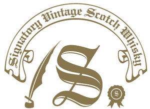 Logo signatory gold