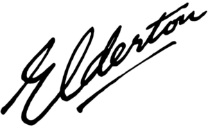 Elderton signature