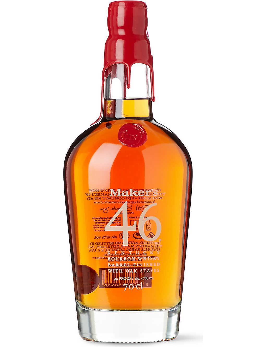 Maker's Mark 46 Barrel Finished Kentucky Straight Bourbon Whisky