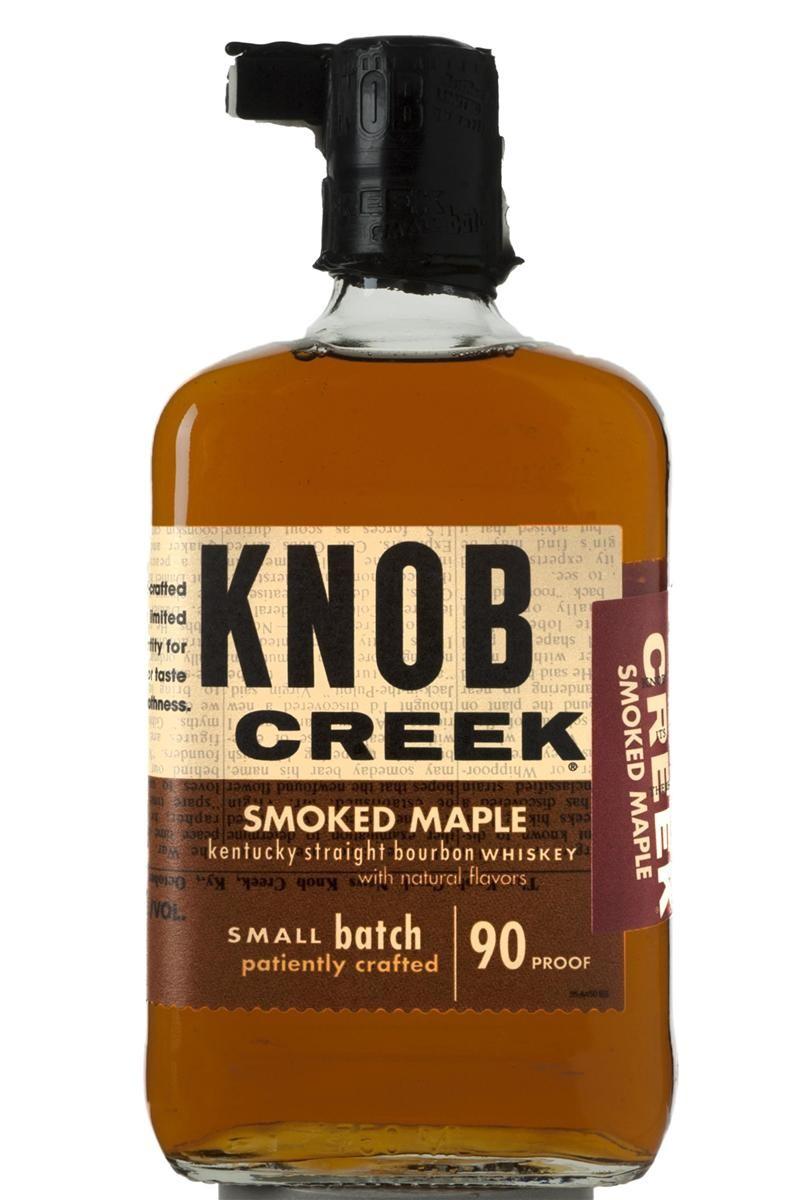 Knob Creek Smoked Maple Small Batch Kentucky Straight Bourbron Whiskey