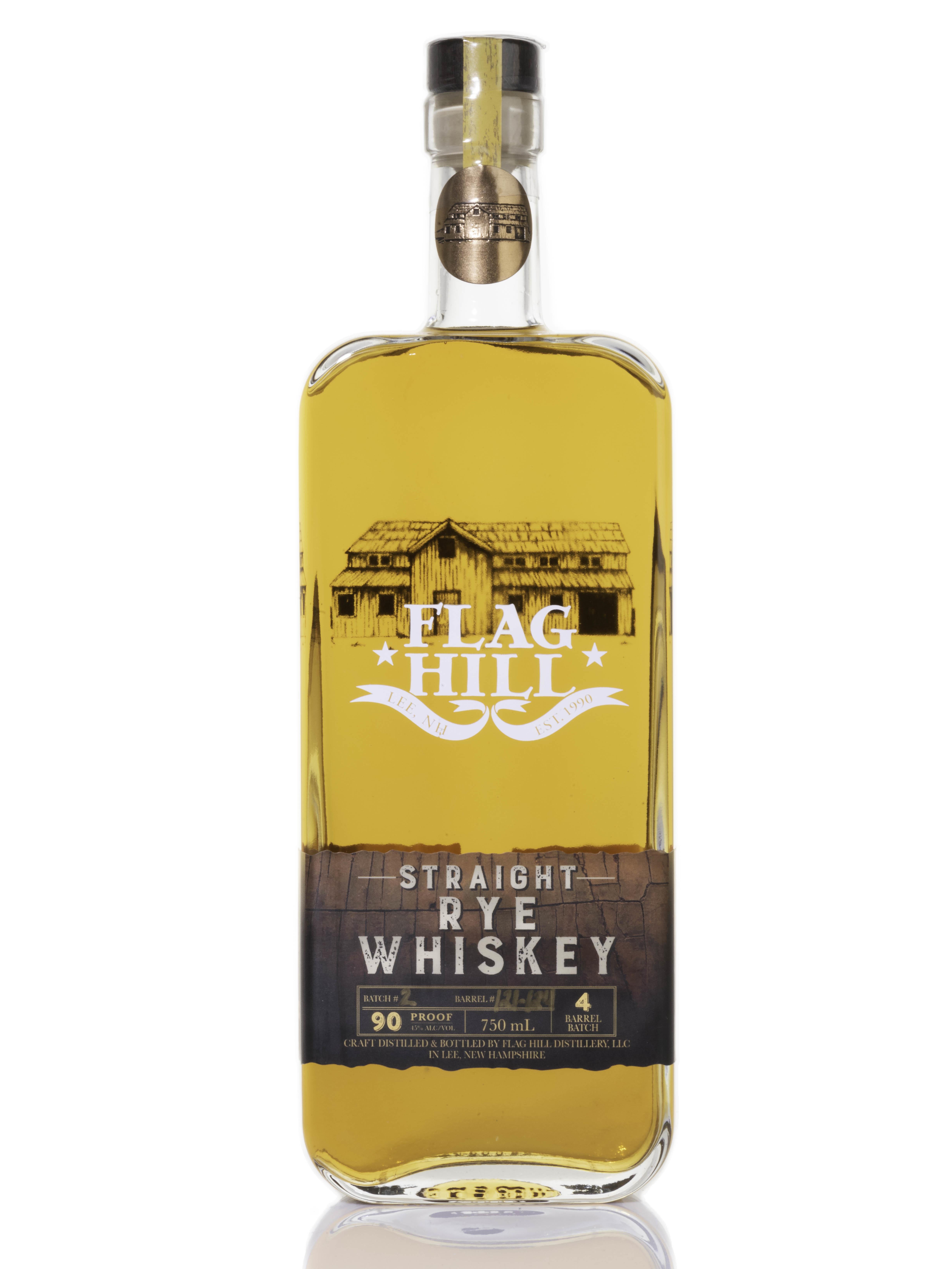 Flag Hill Distillery Straight Rye Whiskey