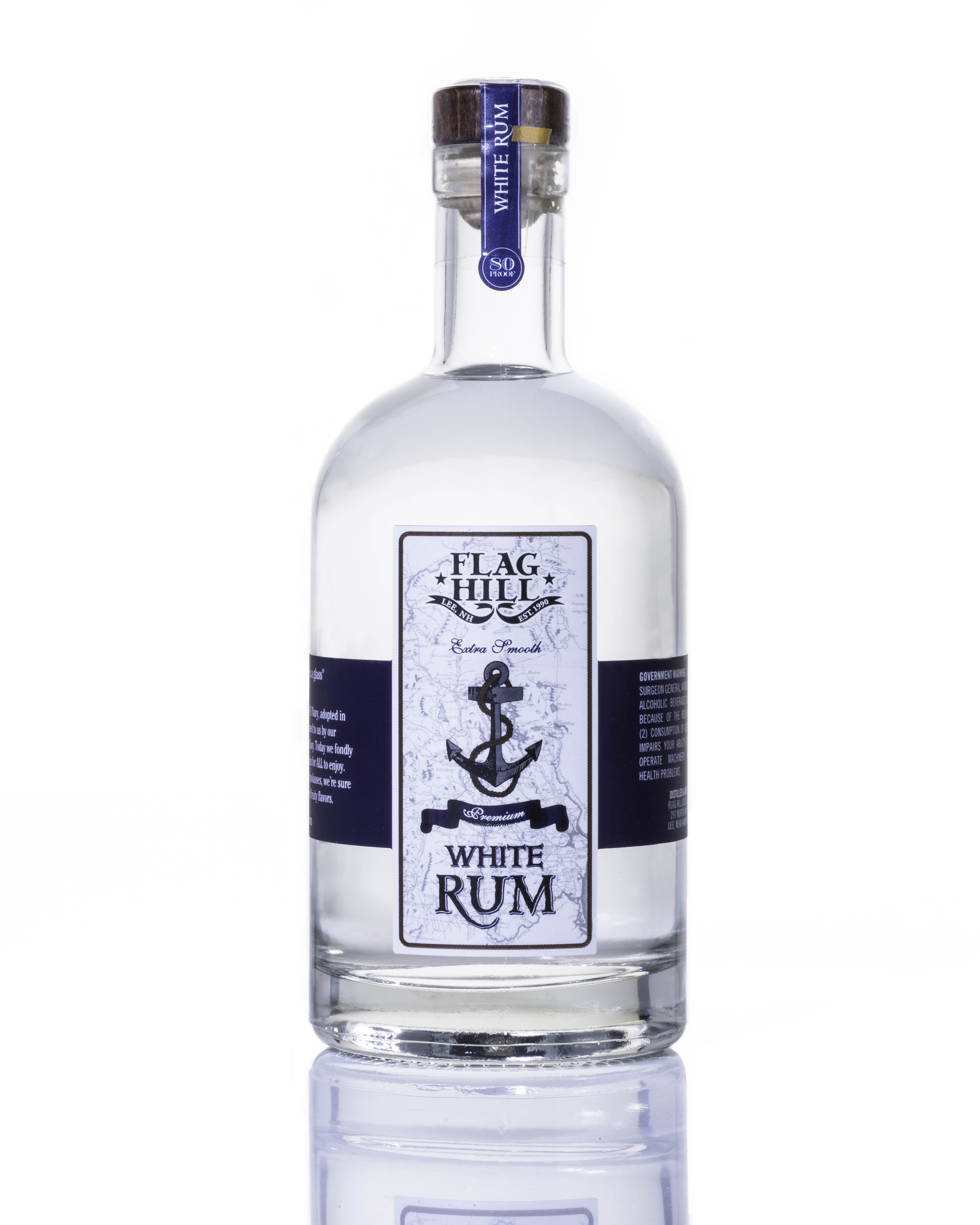 Flag Hill Distillery White Rum