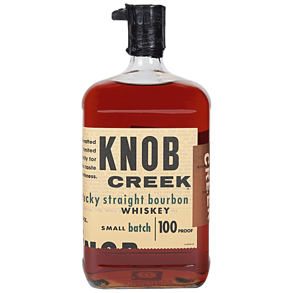Knob Creek Small Batch Kentucky Straight Bourbon Whiskey 100 Proof