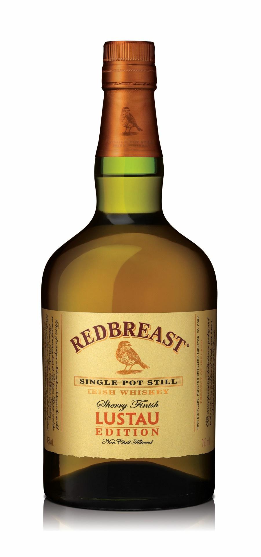 Redbreast Whiskey Lustau Edition Sherry Finish Single Pot Still Irish Whiskey