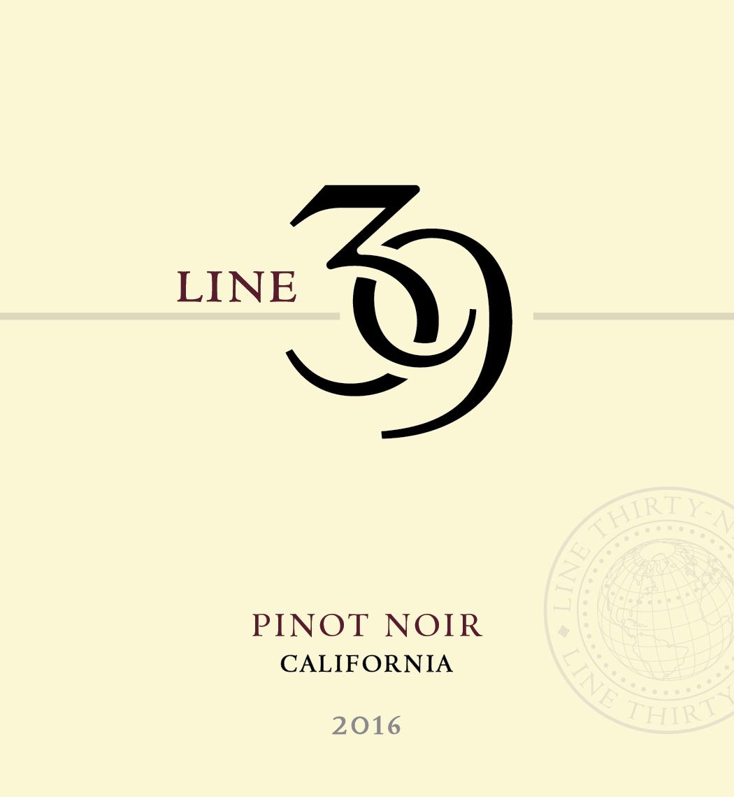 Line 39 Line 39 Pinot Noir (14% Abv)