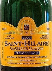 Saint-Hilaire Blanquette de Limoux Brut Blanc de Blancs
