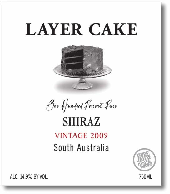 Layer Cake Shiraz Pure Love