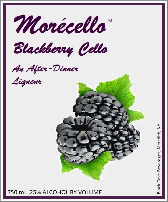 Morécello Blackberry Cello Liqueur