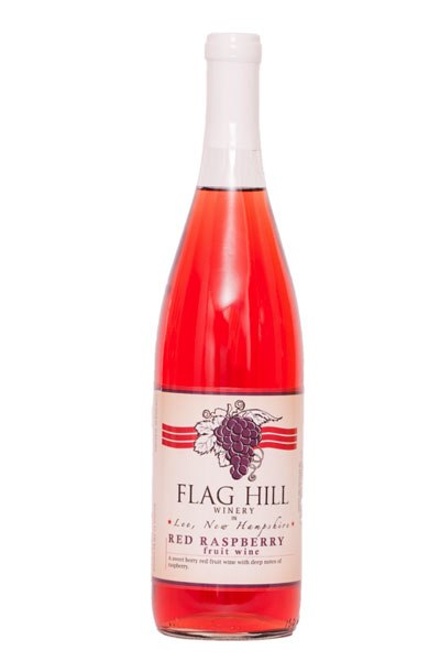 Flag Hill Distillery & Winery Red Raspberry Fruit Wine
