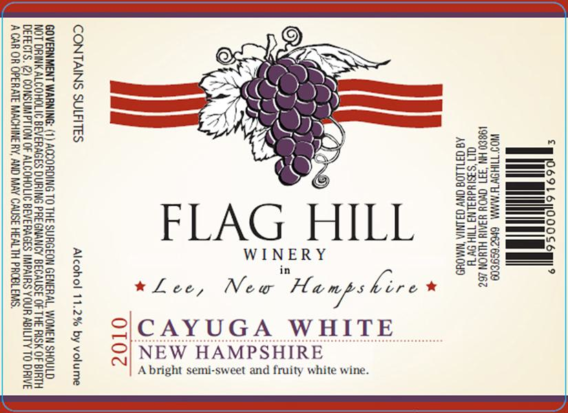 Flag Hill Distillery & Winery Cayuga White