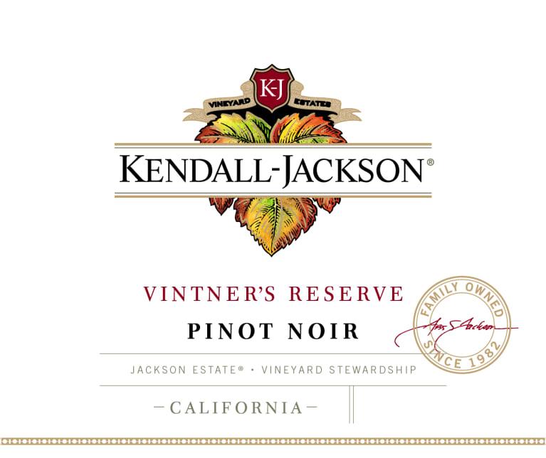 Kendall-Jackson Vintner's Reserve Pinot Noir Jackson Estate California