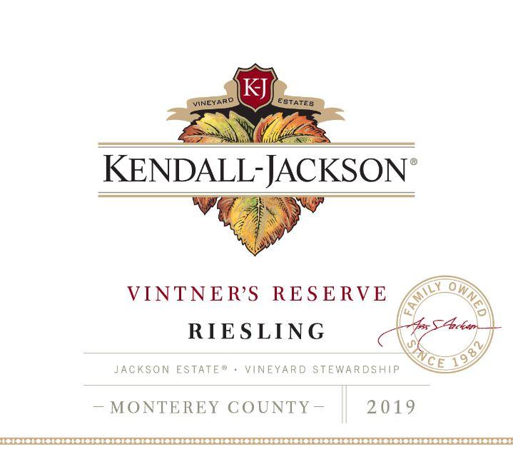 Kendall-Jackson Vintner's Reserve Riesling Jackson Estate Monterey County